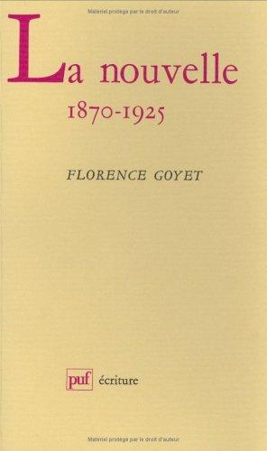 La nouvelle, 1870-1925