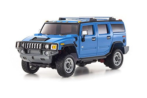 Kyosho Mini-Z Overland Sports RC Hummer H2 Truck, Blue (Hummer H2 Truck compare prices)