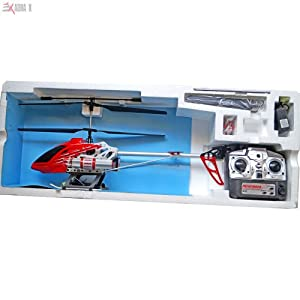 5 Channel Coaxial Big Sized RC Helicopter With Full Function Remote With Missile Shooting Feature For Kids Above 12 Years