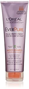 L'Oreal Paris EverPure Sulfate-Free Color Care System Smooth Shampoo, 8.5 Fluid Ounce