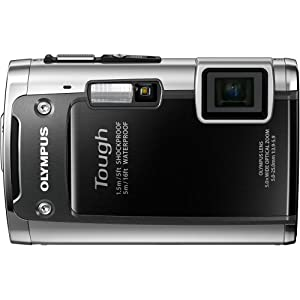 "Olympus  TG-610 Tough 14 MP Digital Camera , 5x Wide Optical Zoom (28mm), 3"" 920K LCD (Black)"