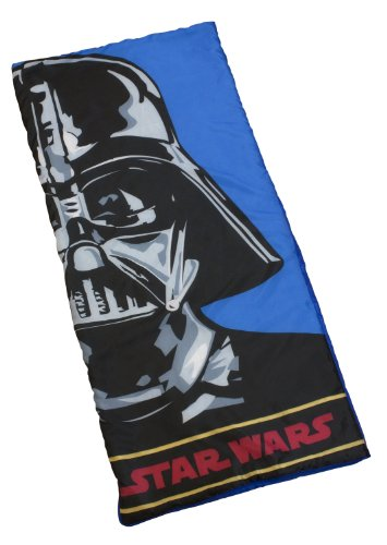 Character World STW-VAD-SB2-MSC-06 Star Wars Vader Sac de couchage 150cm x 65cm 100% Polyester