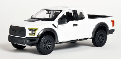 2017 Ford Raptor Pickup Truck White 1/24 by Maisto 31266 (Ford Raptor Model compare prices)