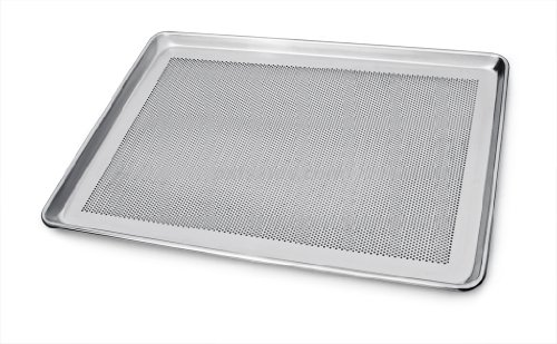 New Star 36770 Commercial Grade 18-Gauge Aluminum Perforated Full Size Sheet Pan, 18 by 26-Inch
