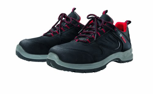 Bosch Professional Safety Shoe S1P WRSH S1P Colour: Red/Black Size: EU 40/6 Uk
