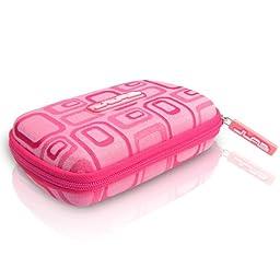 JLAB JPTC88 Samba Travel Case for JBuds J2 Earbuds - Pink