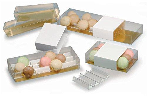 Cuisineonly - Boîte pvc pour 6 macarons. Cuisine : Autour De La Pâtisserie (le Macaron Du Chef)