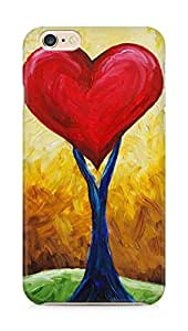 Amez designer printed 3d premium high quality back case cover for Apple iPhone 6 plus (Abstract Paintings Of Love)