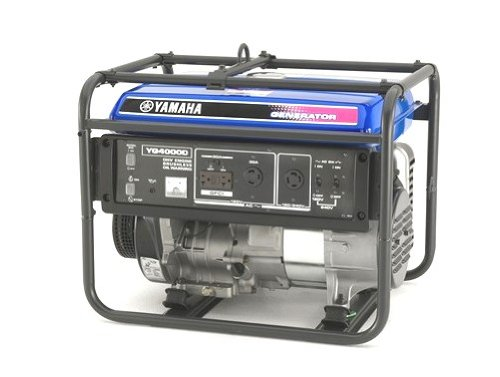 Yamaha YG4000D 4,000 Watt 251cc OHV 4-Stroke Gas Powered Portable Generator (CARB Compliant)