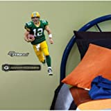 Aaron Rodgers Fathead Green Bay Packers Wall Graphic 16