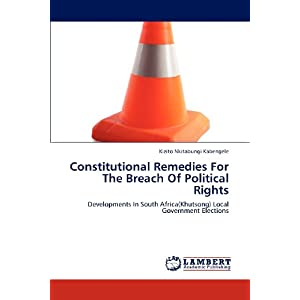 Buy Constitutional Remedies for the Breach of Political ...
