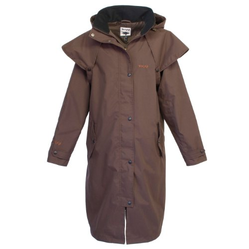 Toggi Pembrooke Full Length Coat - Chocolate, X-Small