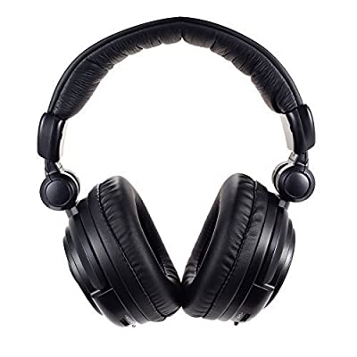 GuDenns 2.4Ghz Optical Wireless Stereo Vibration Xbox 360 PS4/PS3 PC Mac and TV Gaming Headset with Detachable Microphone Also Compatible with XBOX ONE (If u Already Have an Adapter)