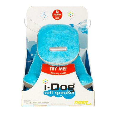 I-Dog Soft Speaker Blue