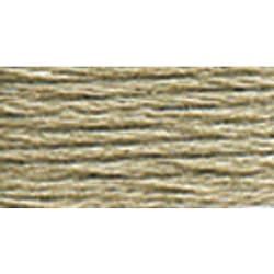 DMC 117-3023 Six Strand Embroidery Cotton Floss, Light Brown Grey, 8.7-Yard