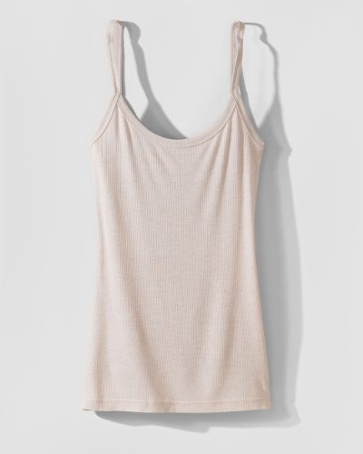 Ribbed Tunic Tank by Spiegel