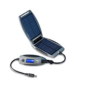 PowerTraveller Explorer Solar Power Charger Device -Grey