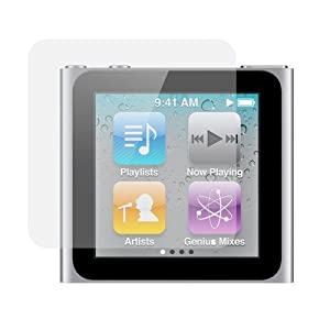 Screen Protector for Apple iPod Nano 6th Generation -3 Pack from rooCASE