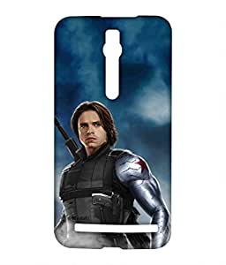 Block Print Company Team Blue Bucky Phone Cover for Asus Zenfone 2