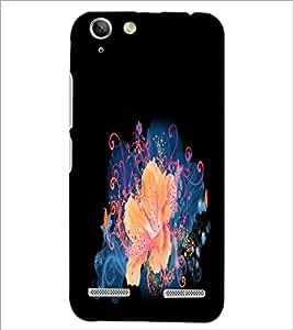 PrintDhaba Flower D-2153 Back Case Cover for LENOVO VIBE K5 PLUS (Multi-Coloured)