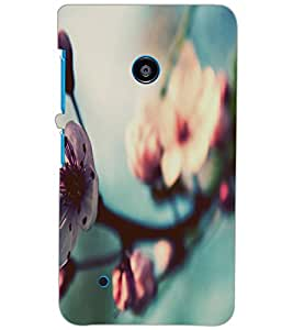NOKIA LUMIA 530 FLOWER Back Cover by PRINTSWAG