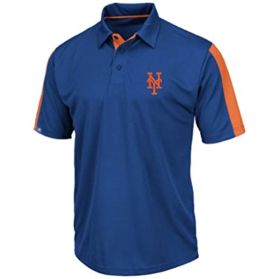 "New York Mets Majestic MLB ""Career Maker"" Performance Polo Shirt"