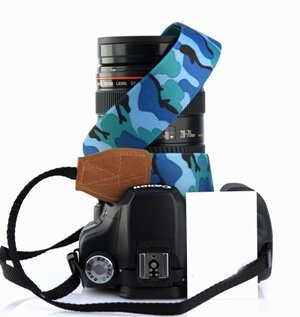 Cosmos Multi color Camouflage Camera Strap Shoulder grip Neck Strap Belt for Nikon D3000 D5000 D80 D90 with Cosmos Fastening Strap