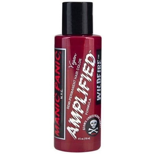 manic panic amplified semi permanent hair color wildfire - Coloration Vegan