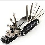 自転車工具セット 六角レンチ 多機能 携帯 ランキングお取り寄せ