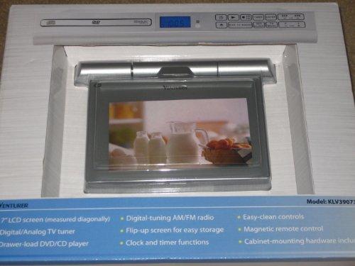 5 venturer klv39073e 7 undercabinet kitchen lcd tv dvd combo 5