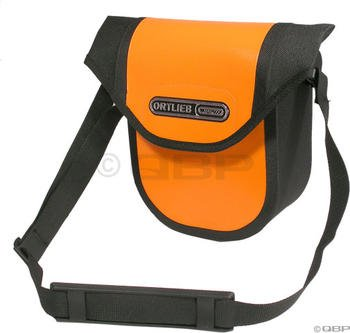 Ortlieb Ultimate5 Handlebar Bag: Orange/Black