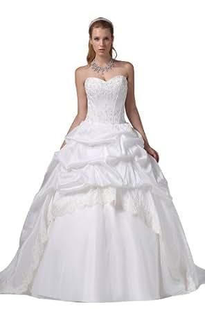 Herafa Wedding Dress Elegant NOw35025 At Amazon Womens Clothing Store