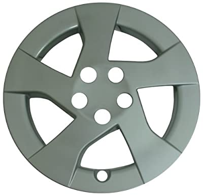 CCI IWC448-15S 15 Inch Clip On Silver Finish Hubcaps - Pack of 4