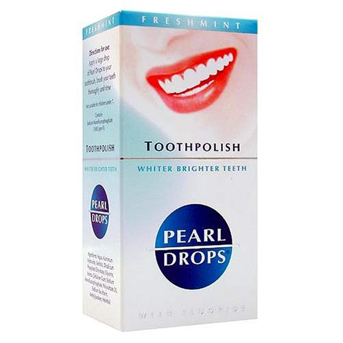 Pearl Drops Whitening Fluoride Toothpolish Freshmint