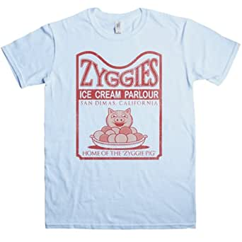 Mens Inspired By Bill N Ted T Shirt - Zyggies - Light blue - Small