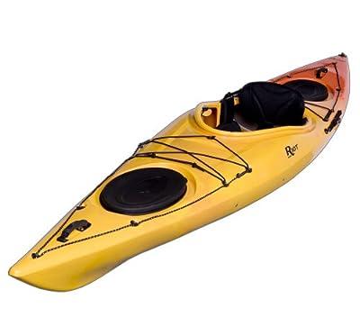 Edge 13 Riot Kayaks Yellow/Orange 13ft LV Flatwater Day Touring Kayak