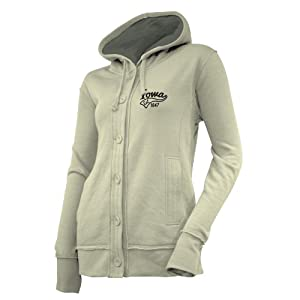 NCAA Iowa Hawkeyes Ladies Chunky Cable Hoodie by Ouray Sportswear
