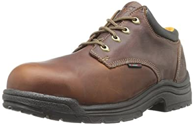 Timberland PRO Men's Titan Safety Toe Oxford,Haystack Brown,7 M