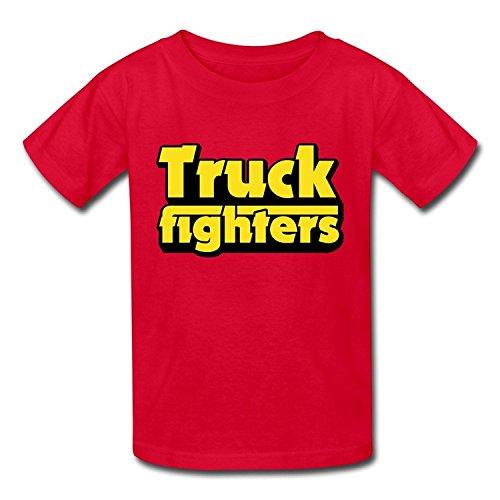 Goldfish Youth Fashion Blank Truckfighter T-ShirtYILIAX21767XLarge