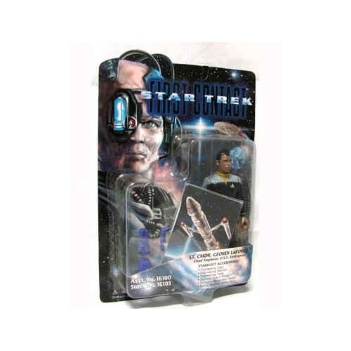 Star Trek First Contact Lt. Cmdr. Geordi LaForge 6 inch Action Figure - 1