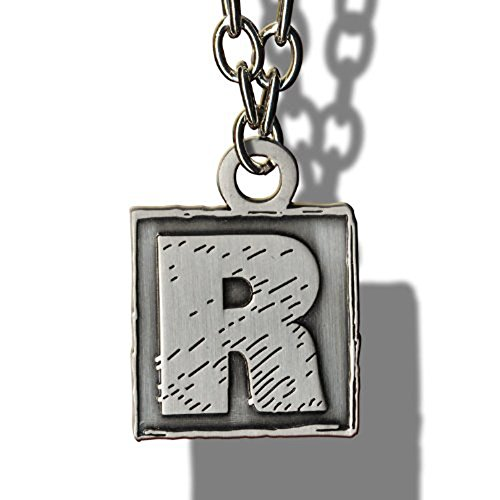 WWE Edge Rated R Superstar Square R Logo Pendant (Wwe Superstar Edge compare prices)