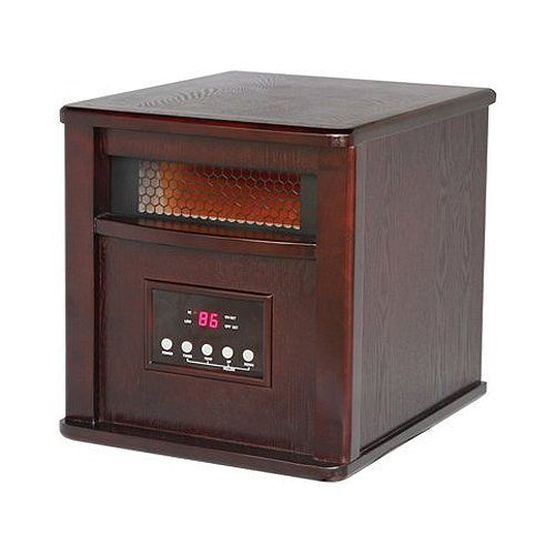 B009CRZLOC Westpointe WI-0035WC Infrared Heater, Dark Oak
