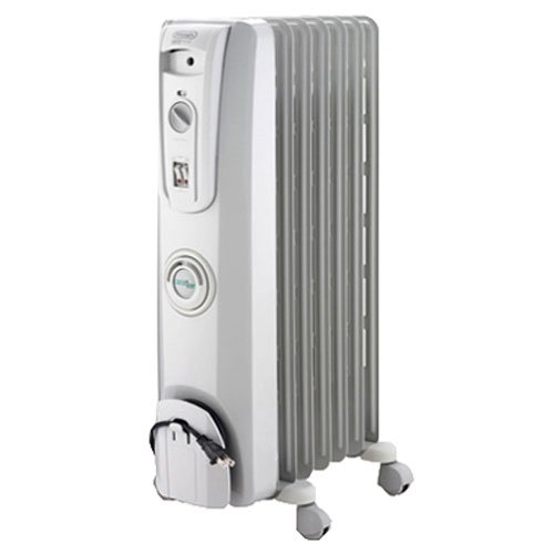 DeLonghi EW7707CM Safe Heat 1500W ComforTemp Portable Oil-Filled Radiator (Radiant Heaters Electric compare prices)