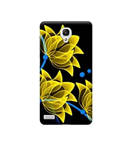 Ebby Premium Printed Back Case Cover With Full protection For Xiaomi Redmi Note (Designer Case)