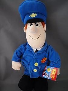 "Amazon.com: Postman Pat Plush Soft 19"" Jumbo Doll Toy: Toys & Games"