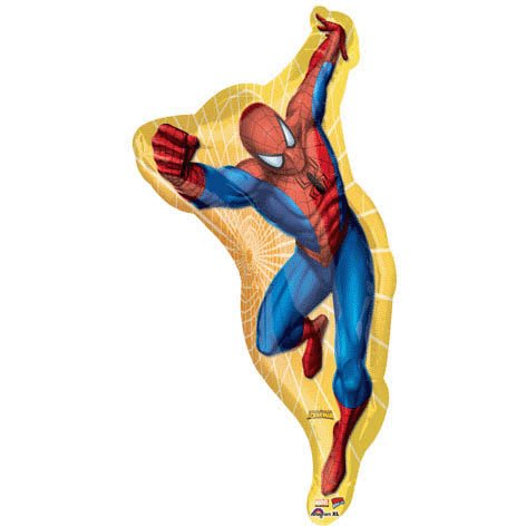 38 Inch Large Shape Spider-Man Shape Balloon - Each - 1