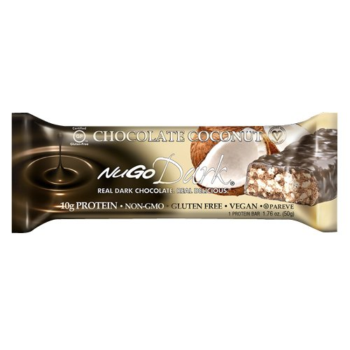 Nugo Nutrition Bar, Dark Chocolate Coconut, 1.76 Ounce (Nugo Bars Organic compare prices)