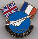 British Airways Air France Concorde 1976-2003 Lapel Pin Badge