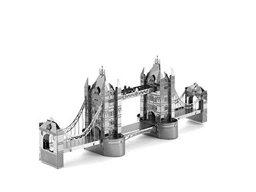 JZK® puzzle 3D metallo , meraviglioso regalo (Tower Bridge)