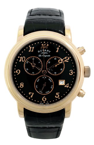Rotary Men's Les Originales Strap Watch GS90022/19